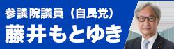 参議院議員(自民党) 藤井もとゆき